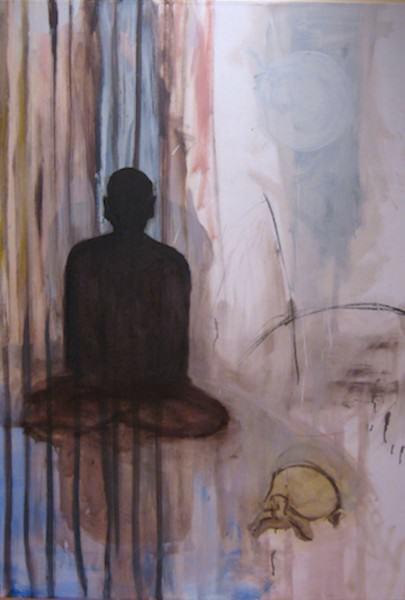 "01. Equinox 60""x40"" oil: canvas 2008"