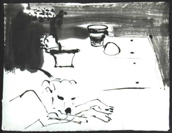 03. Tia on a Table 17 x22 2004