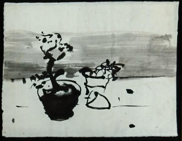 04. Still Life w Bonzai 17 x22 2004