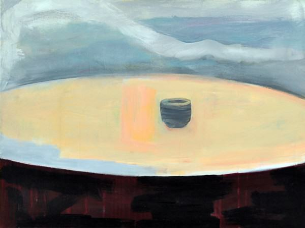Larry Shineman | BOWL AND SYCAMORE | 30 x 40 | oil on canvas | 2011