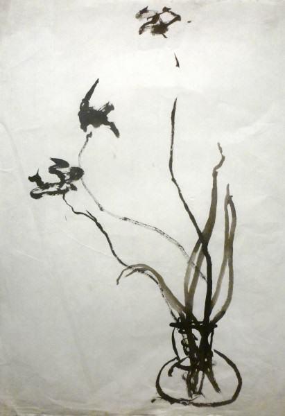 09. Three blooms long stems 26 x18 2011
