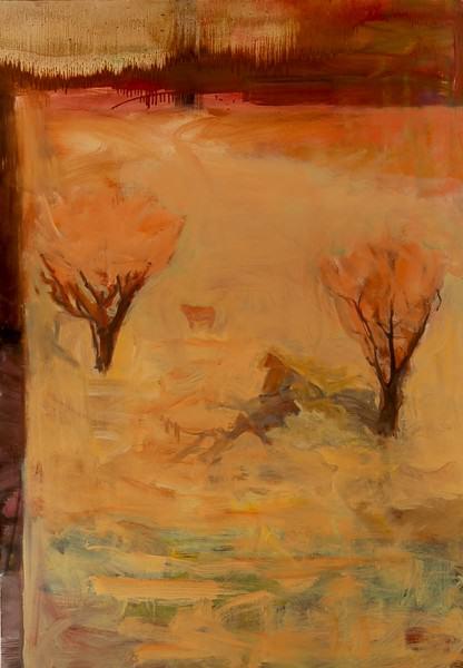 Larry Shineman   SOMEWHERE SOUTHWEST   60 x 42   oil on canvas   2013