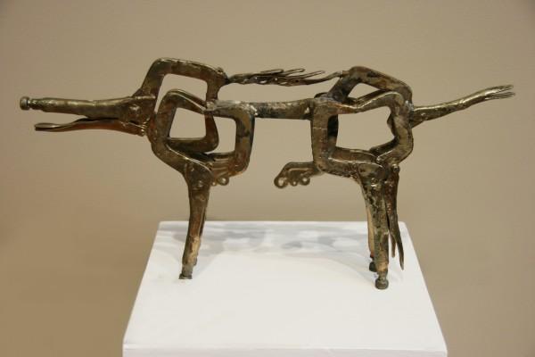 Elmer Peterson | RAZORBACK HOG |  metal | 13 x 26-1/4 x 3 | n.d.