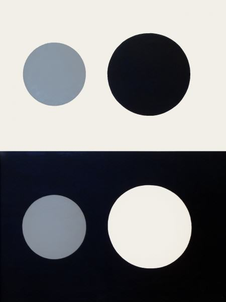 1977.013 | RalstonThompson | VALUES (ECLIPSE) | oil on canvas | 49 x 37"
