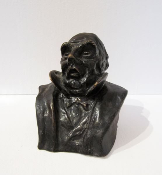 1977.031 | Honore Daumier | FRENCH LEGISLATOR | Bronze | undated