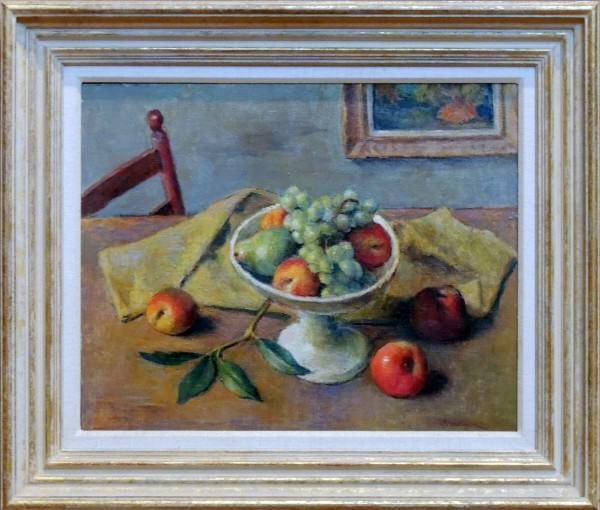 1979.007 | Robert Brackman | ARRANGEMENT #7 | oil on canvas | undated | gift of Mr. and Mrs. Michael Slomak