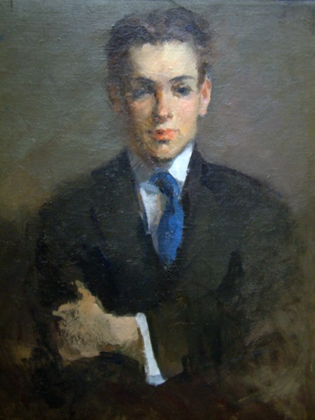 Ethel Cook | PORTRAIT OF WILLIAM MERRITT CHASE'S SON | oil on canvas | 29 x 25"