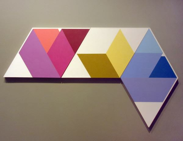 1990.034 | Forbes Whiteside | EX HEX | acrylic on canvas | 26-3/8 x 45-3/4"