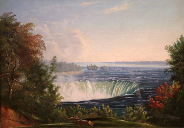 Godfrey Nicholas Frankenstein | NIAGARA FALLS | oil on canvas | 18 x 24"
