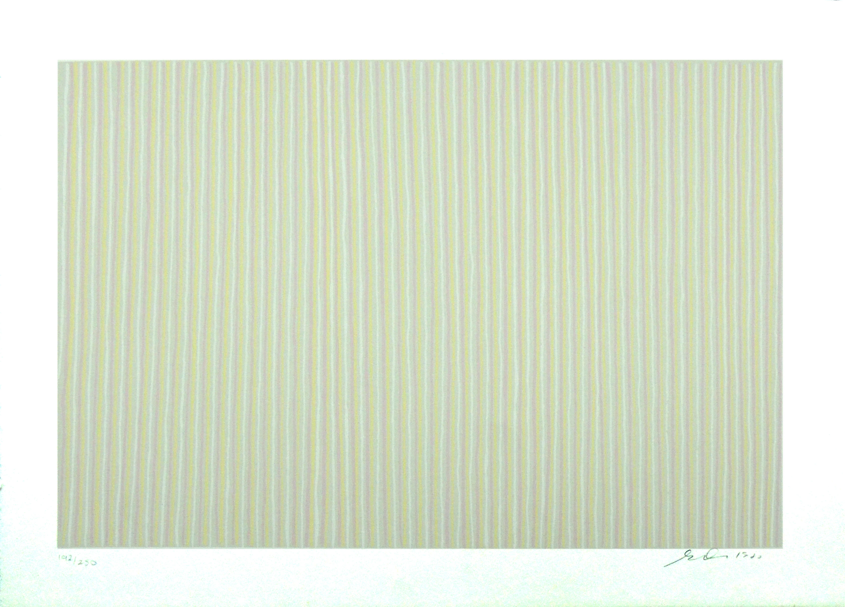 "1996.034 | Gene Davis | CAROUSEL | lithograph |17 X 23-1/2"" | 1980 | Gift of Adam E. Schuster"