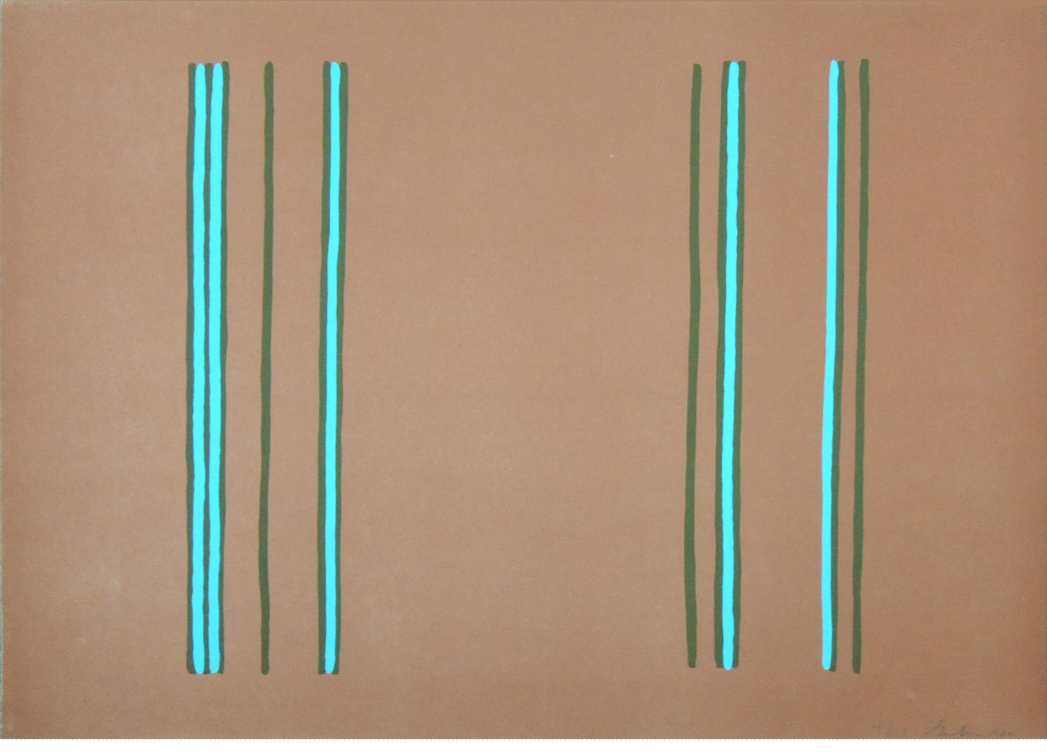 "1996.035 | Gene Davis | LILAC | lithograph on paper |22 x 30"" | 1980 | Gift of Adam E. Schuster"