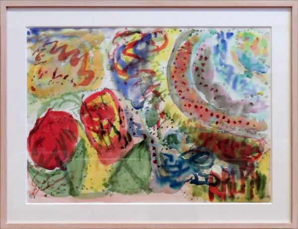 Ralph Bell | #24-WP | watercolor on paper | 22 x 30"