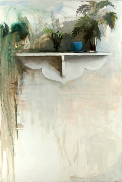 Larry Shineman | ON A SHELF | 72 x 56 | oil on canvas | 2013