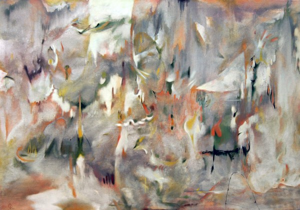 Donald Roberts | GARDEN OF UNANSWERED QUESTIONS - DAWN | oil on canvas |42 x 60"
