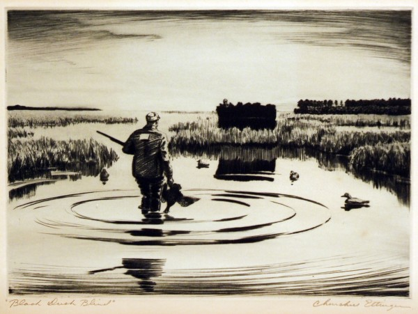 Churchill Ettinger | BLACK DUCK BLIND | n.d.