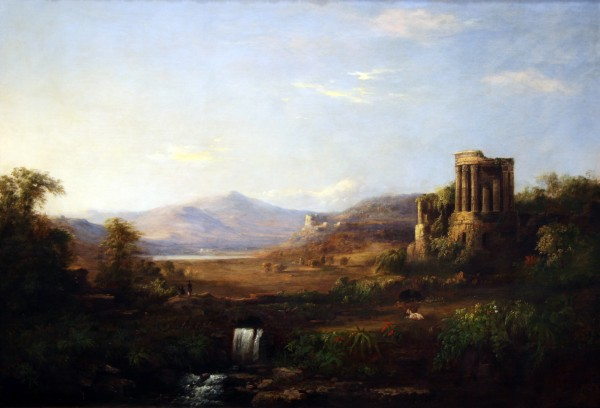 Robert Scott Duncanson | THE TEMPLE OF SIBYL