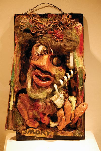 Russell (Smoky) Brown | POTPOURRI | c.1989 | mixed media