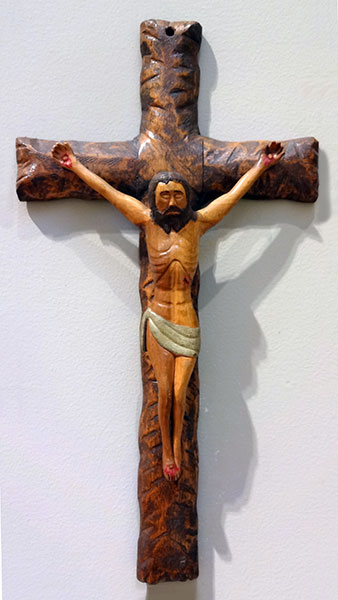Stephen Sabo | CRUCIFIX | carved wood