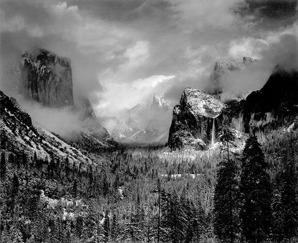 Ansel Adams | CLEARING WINTER STORM, YOSEMITE NATIONAL PARK |  c.1940 | © The Ansel Adams Publishing Rights Trust
