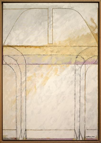 "Jack Osbun | CHAIRSCAPE #2 | oil paint on linen canvas | 45""x31"" 