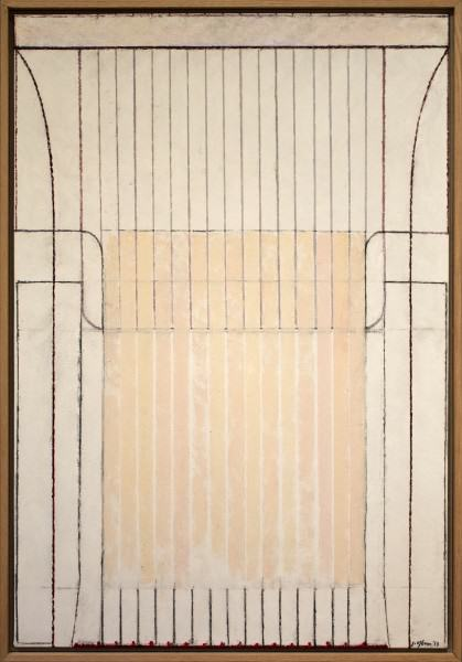 "Jack Osbun | CHAIRSCAPE #4 | oil paint on linen canvas | 45""x31"" 