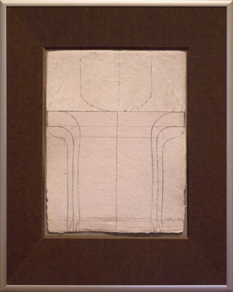 "Jack Osbun | STUDY ""A"" FOR CHAIRSCAPE 