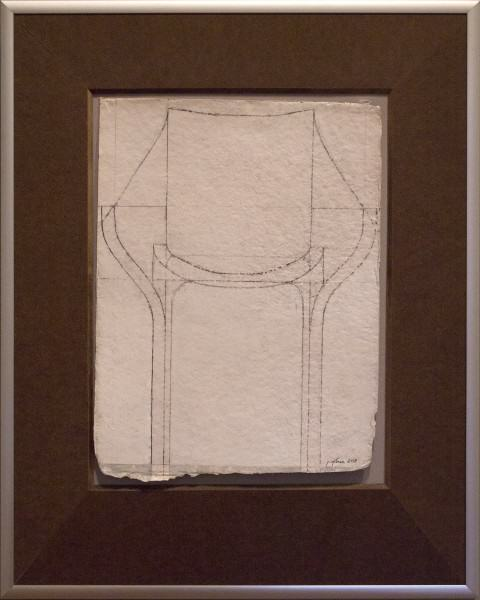 "Jack Osbun | STUDY ""D"" FOR CHAIRSCAPE 