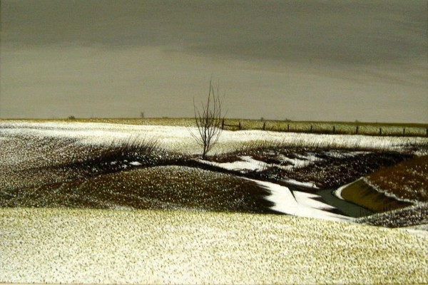 Best of Show | Alan Gough | FIELD WAVE | oil on canvas | 2012