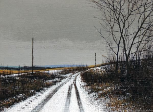 Alan	 Gough | LATE WINTER ENTRY | oil
