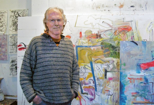 Alan Crockett in his studio.