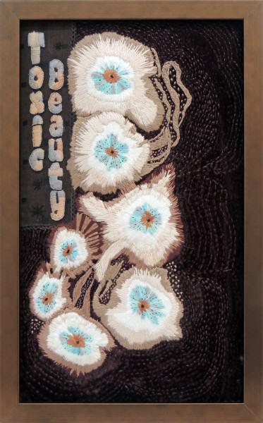Betty Kelley | TOXIC BEAUTY | embroidery
