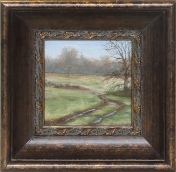 Betty Peterson | CAESAR CREEK PRAIRIE 1 | soft pastel | 5 x 5""