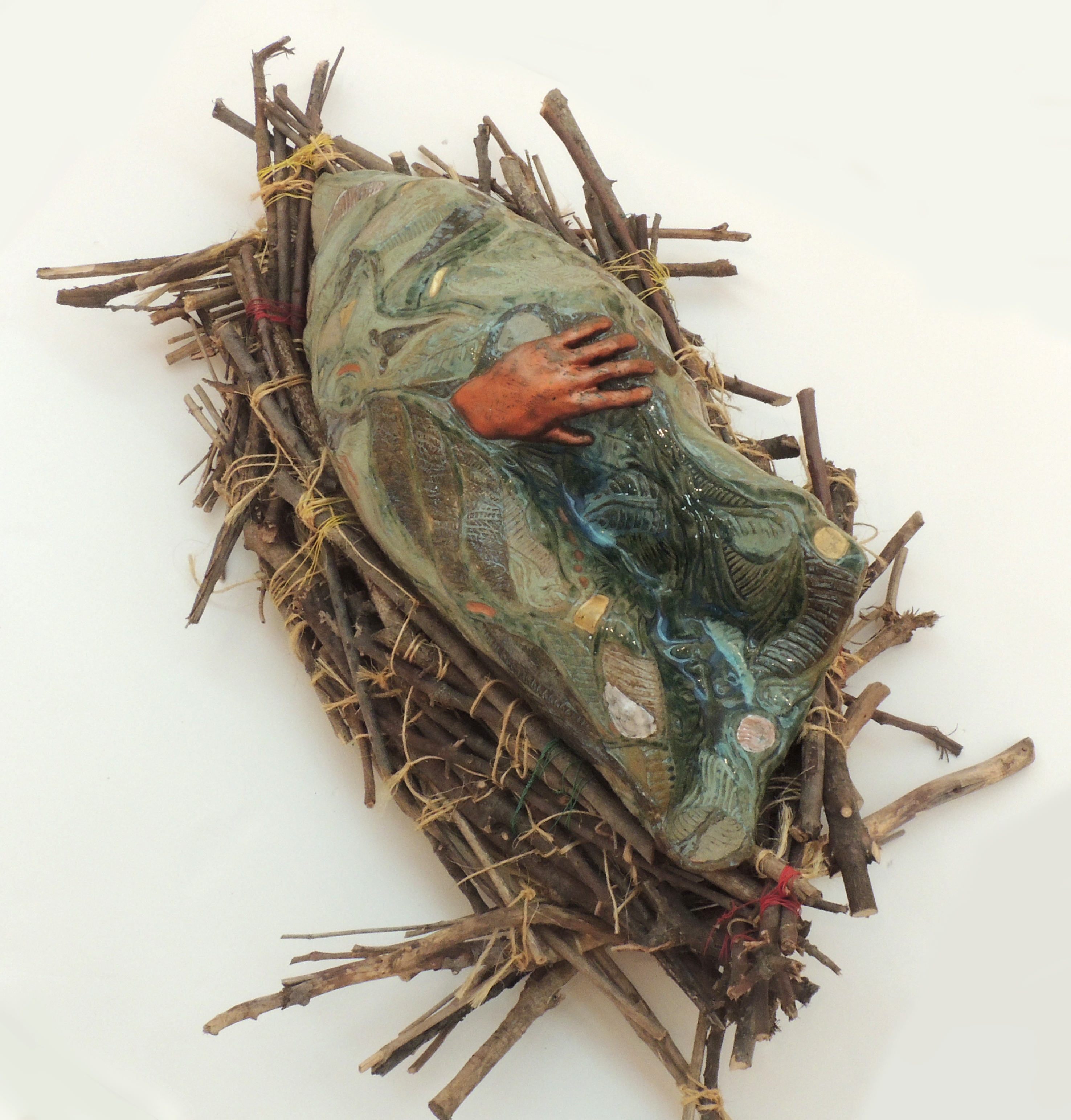 Bob Coates | REBIRTH | Ceramic, Wood