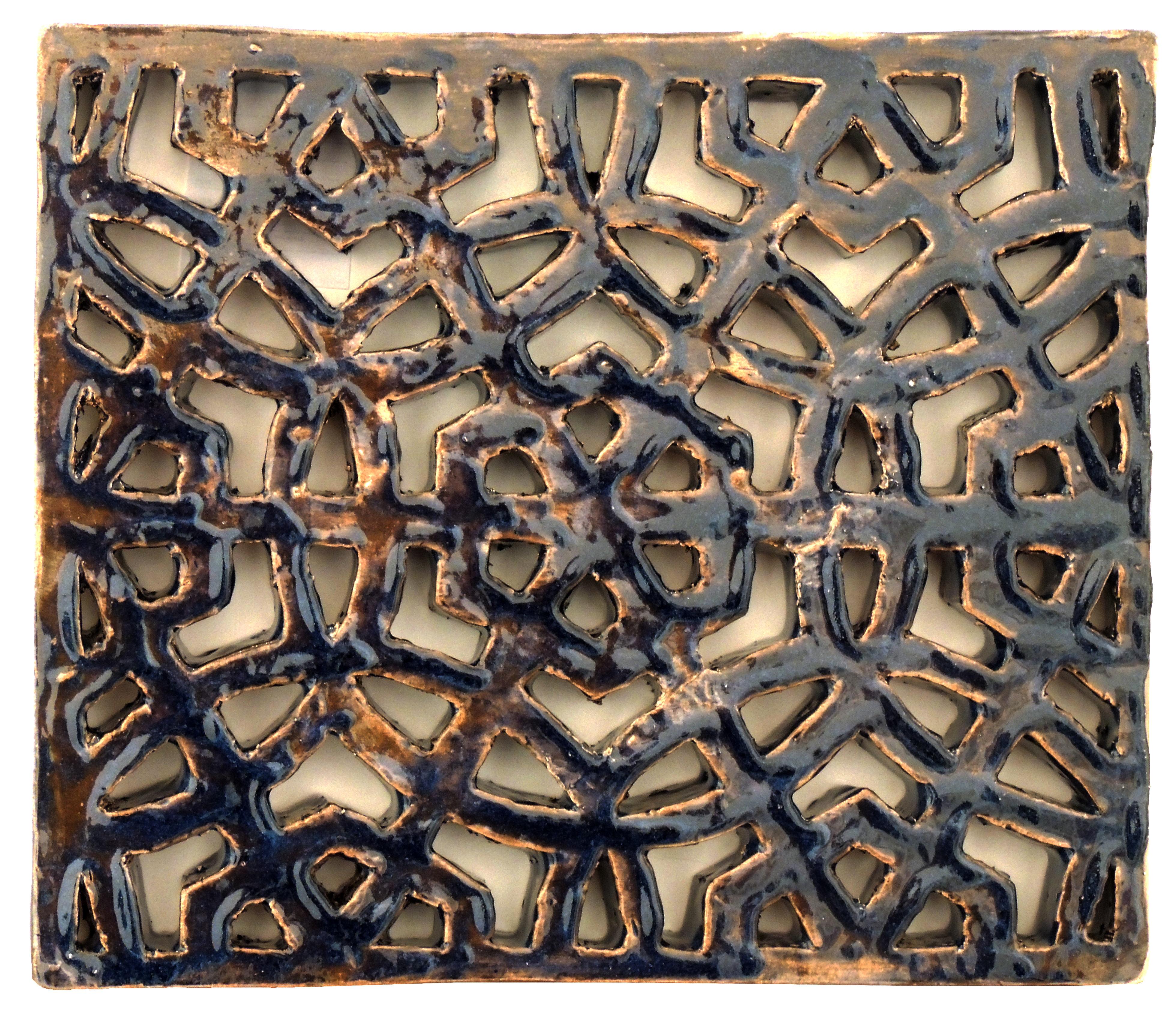Brian Zimerle | BURLY BARRICADE | Glazed ceramic