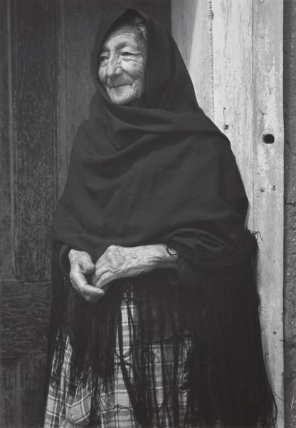 Ansel Adams   SPANISH-AMERICAN WOMAN NEAR CHIMAYO, NEW MEXICO   C.1937   © The Ansel Adams Publishing Rights Trust