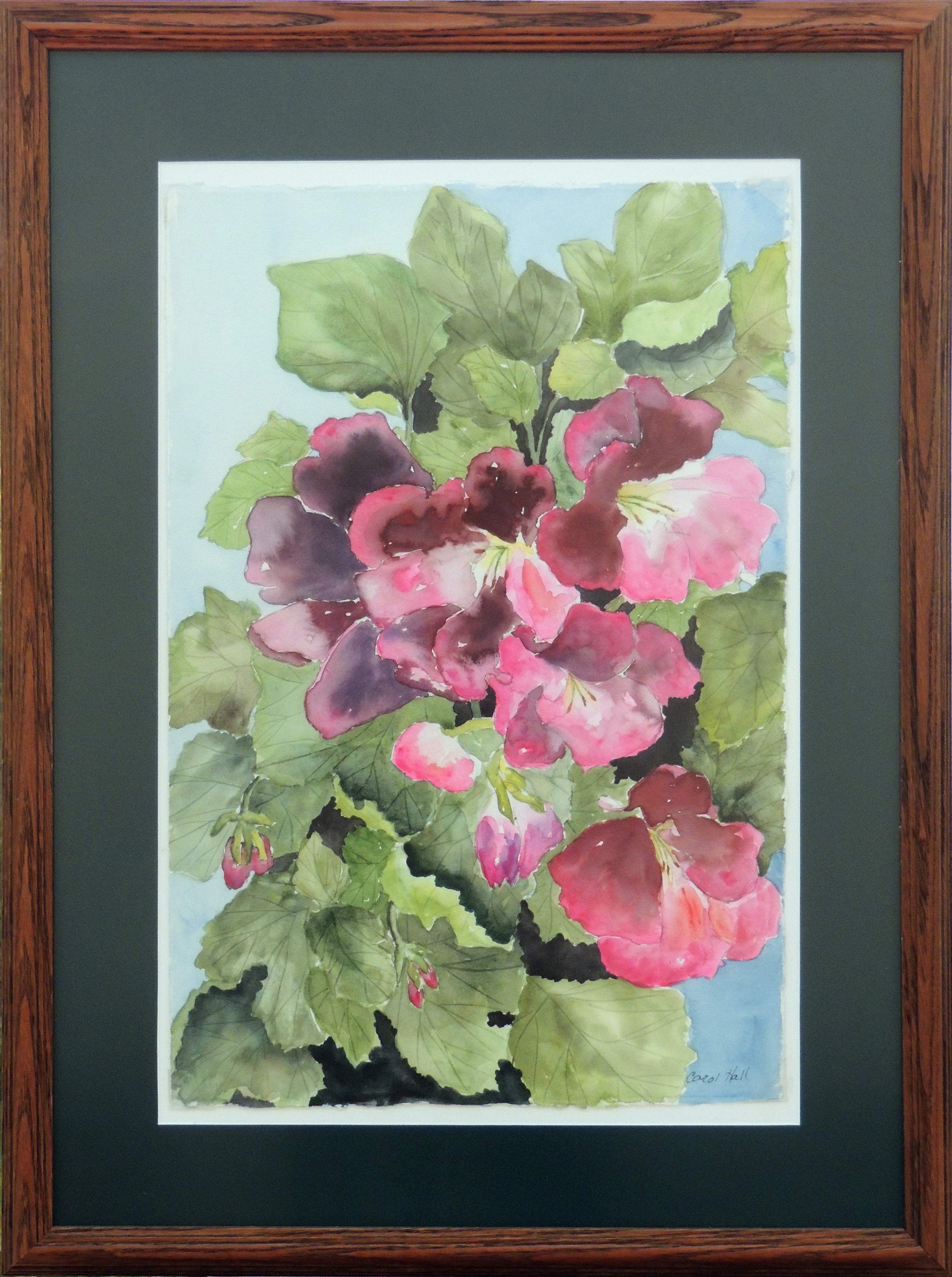 Carol Hall | BLOOMING TIME | Watercolor