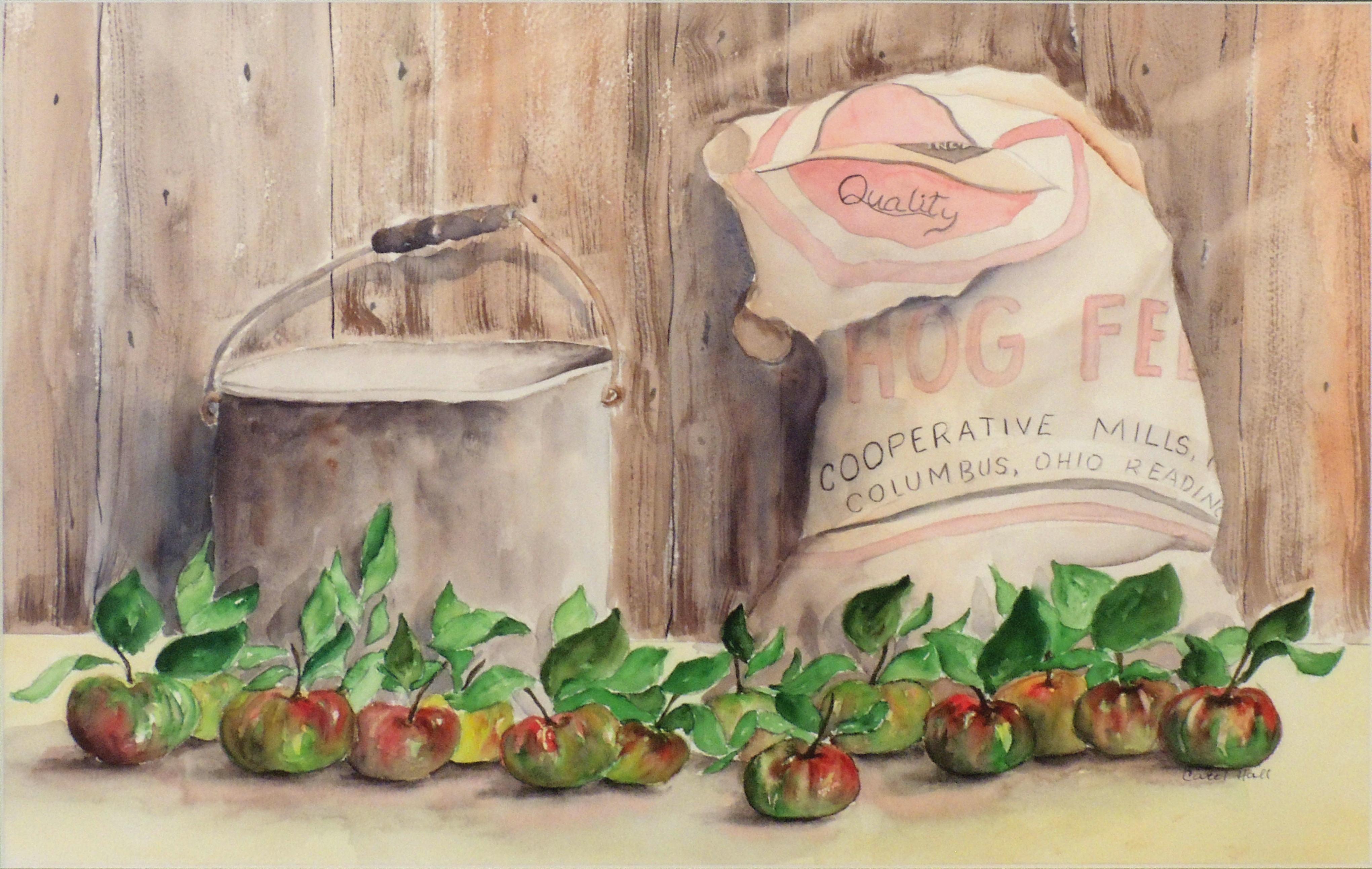 Carol Hall | FARMERS MARKET | Watercolor