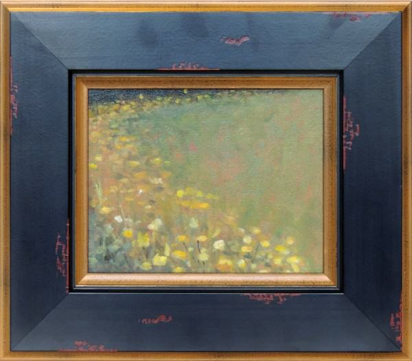 Carolyn Heffelfinger | BLACK-EYED SUSANS | oil | 8 x 10""