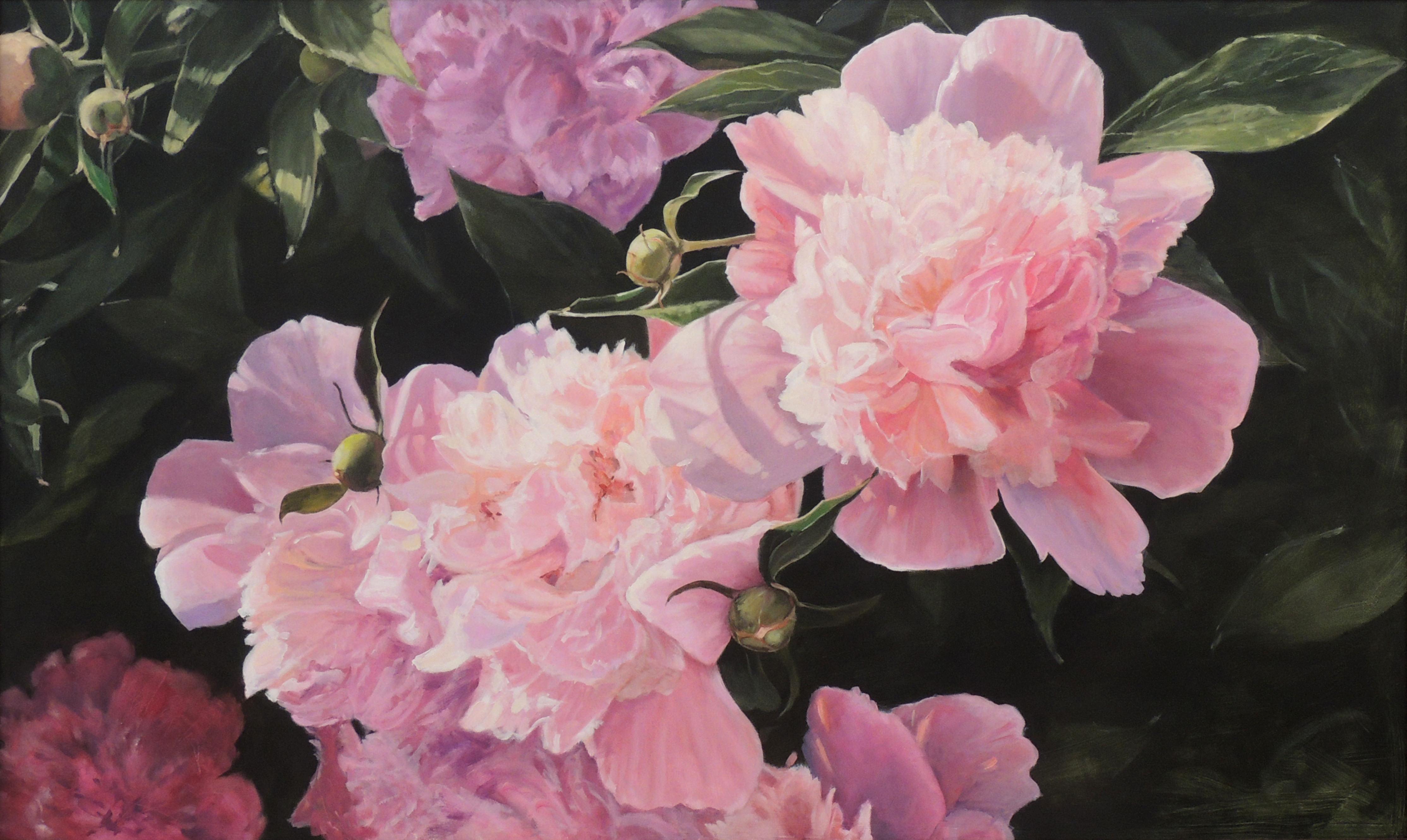 Carolyn Heffelfinger | PEONIES | Oil