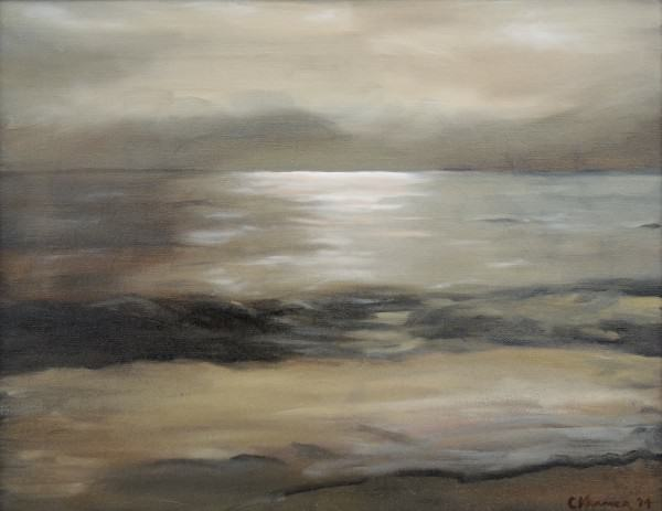 Catherine Kramer | REFLUENT TIDE | oil