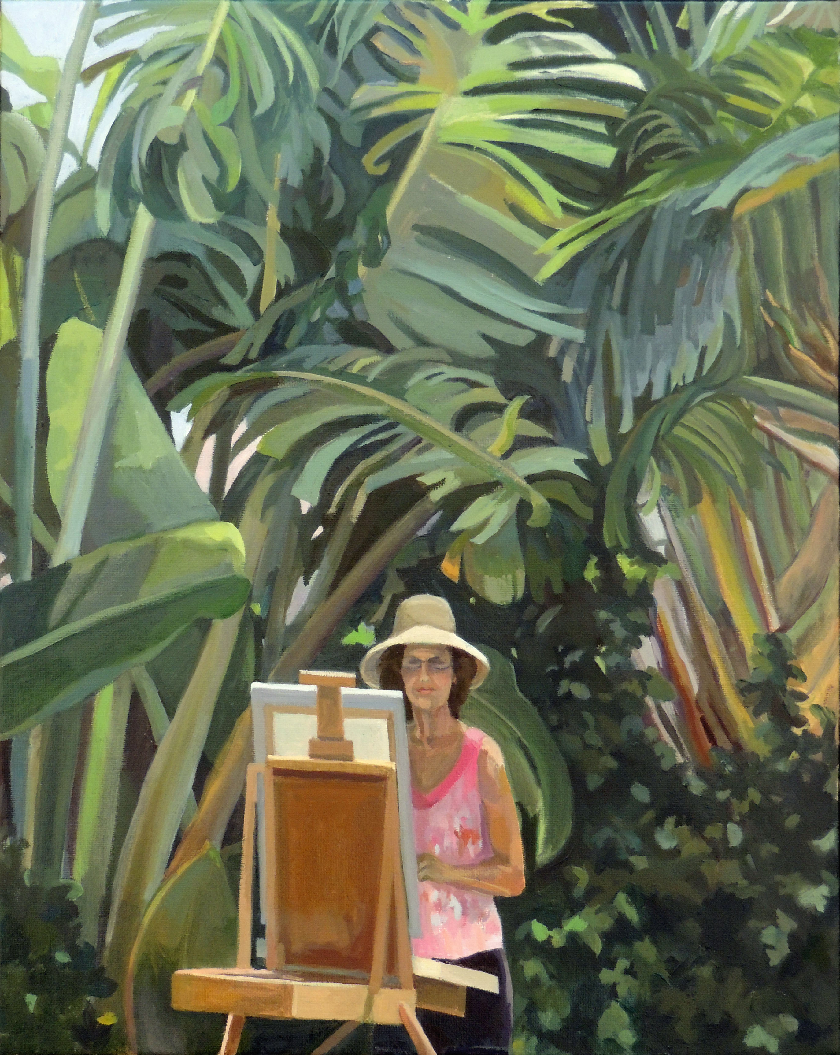 Connie Hanselman | CREATING PARADISE | Oil