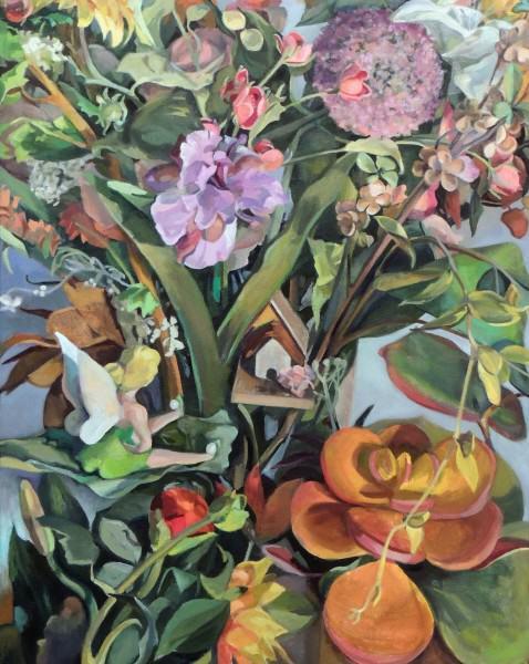 Connie Hanselman | DREAM HOME | oil