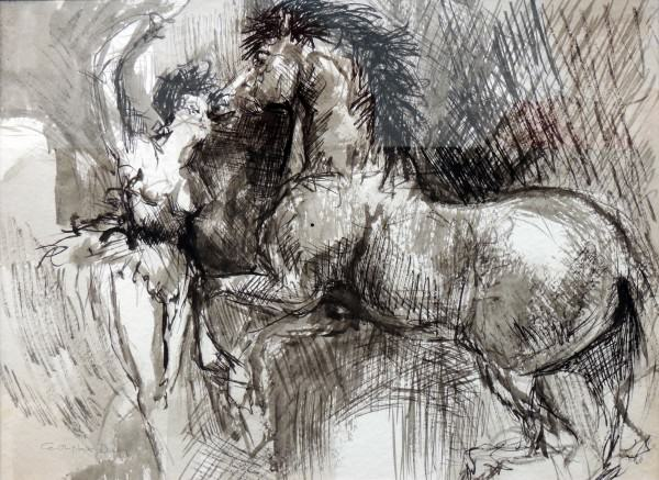 Seasons Bistro Exhibition Award | Cynthia Durfey-Smith | DANCES WITH HORSES