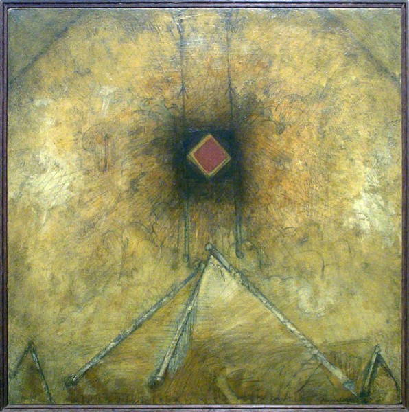 Robert Knipschild | RITUAL GROUND | oil on canvas | 1977
