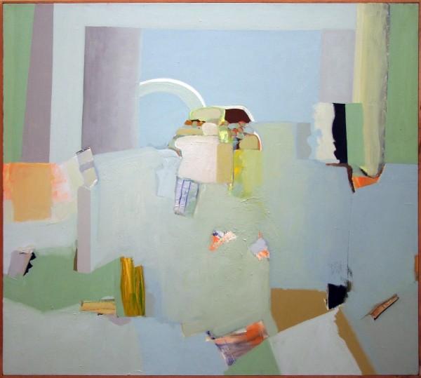 Angelo Ippolito | PAESAGGIO | oil on linen | 1980