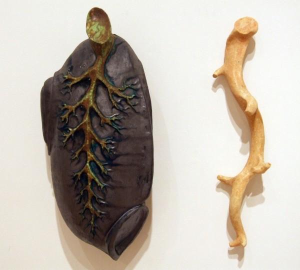 Juan Granados | STEM AND BRANCH | earthenware and glaze | 2002