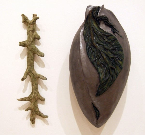 Juan Granados | STEM AND SEED | earthenware and glaze | 2002