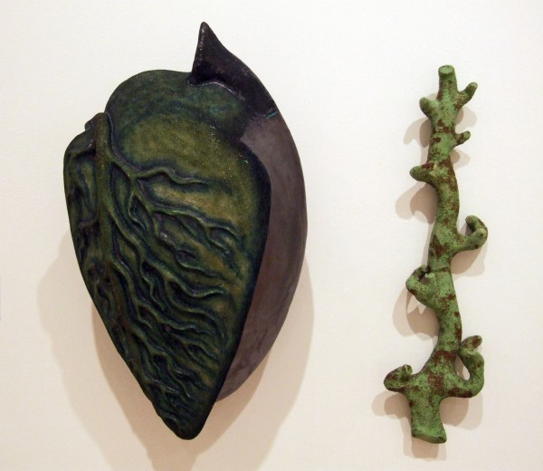 Juan Granados | LEAF AND STEM | earthenware and low fire glazes | 2001