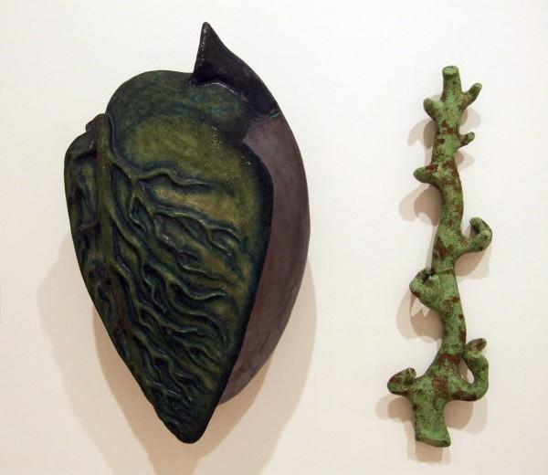 Juan Granados | LEAF AND STEM | earthenware and low fire glazes | 2001