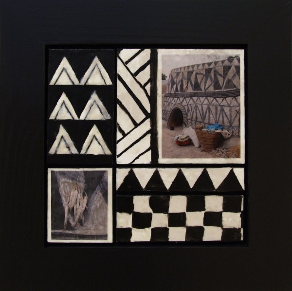 Anne Straus | GRANARY | encaustic and photo